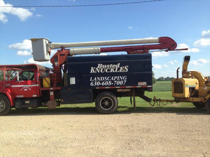 Busted Knuckles Landscaping, L.L.C. - Tree Service - Somonauk, IL - Thumb 2